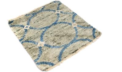 morgenland Teppich »Nepal Teppich handgeknüpft beige«, quadratisch, 18 mm Höhe, Sehr... kaufen