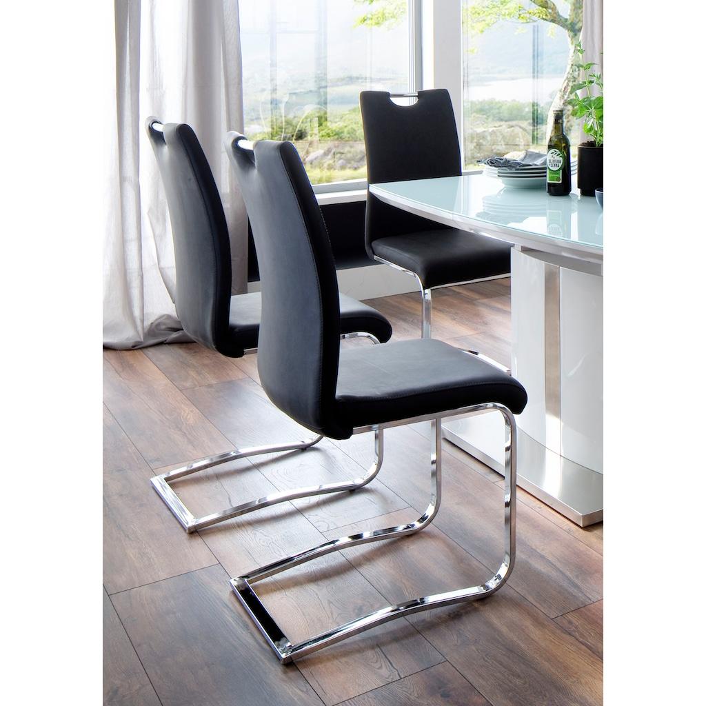 MCA furniture Esszimmerstuhl »Tia Schwingstuhl«, 4er-Set, Stuhl belastbar bis max. 120 kg