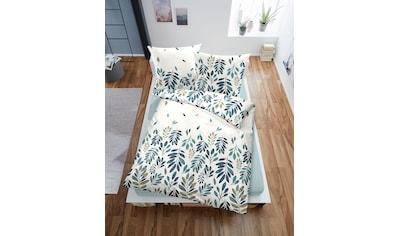 Bettwäsche »Blätter«, Dormisette kaufen