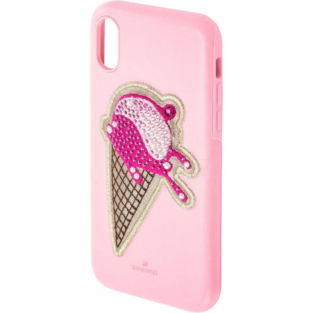 Swarovski Smartphone-Hülle »No Regrets Ice Cream Smartphone Schutzhülle mit integriertem Stoßschutz, iPhone® XS Max, rosa, 5481544«
