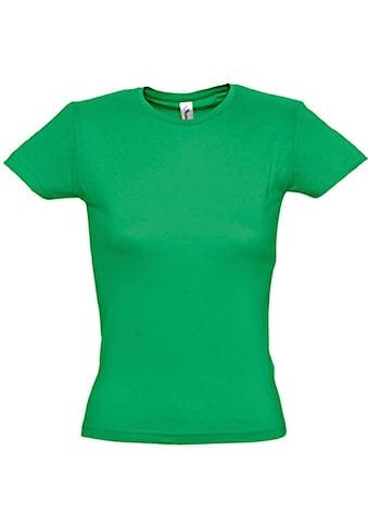 SOLS T-Shirt »Damen, Kurzarm, Rundhalsausschnitt« kaufen
