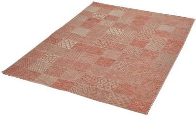 Dekowe Teppich »Makan«, rechteckig, 6 mm Höhe, Flachgewebe, Patchwork Design, Wohnzimmer kaufen