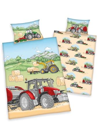 Babybettwäsche »Traktor«, kaufen