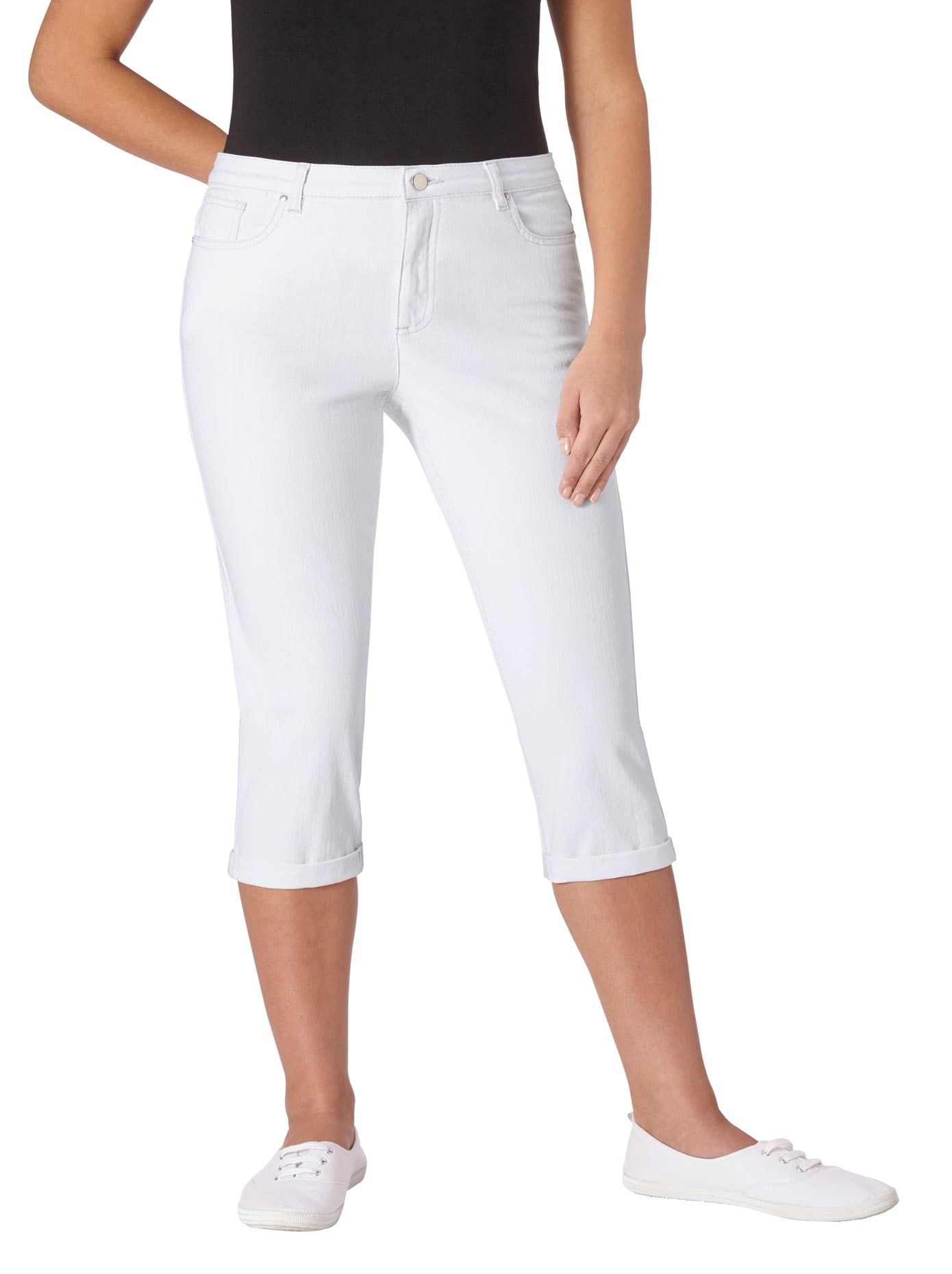 Casual Looks Capri-Hose in bequemer Stretch-Qualität | Bekleidung > Hosen > Caprihosen | Casual Looks