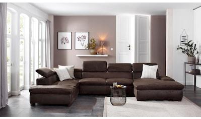Home affaire Wohnlandschaft »Alberto« kaufen
