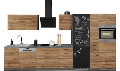 HELD MÖBEL Küchenzeile »Trier«, ohne E-Geräte, Breite 390 cm kaufen