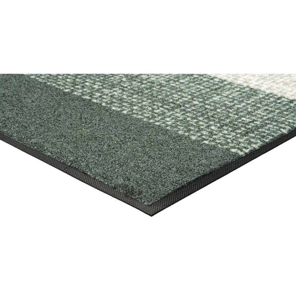 wash+dry by Kleen-Tex Fußmatte »Lynna«, rechteckig, 7 mm Höhe, Schmutzfangmatte, In- und Outdoor geeignet, waschbar