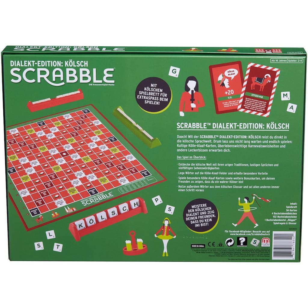 Mattel games Spiel »Scrabble Dialekt-Edition: Kölsch«