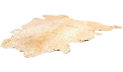 Kayoom Fellteppich »Fly 110«, fellförmig, 12 mm Höhe, echtes Rinderfell, Wohnzimmer kaufen