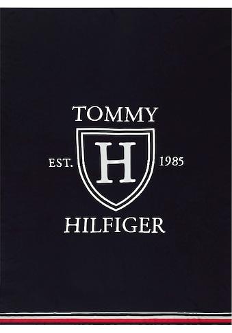 Tommy Hilfiger Plaid »Club Shield«, mit Hilfiger-Wappen kaufen
