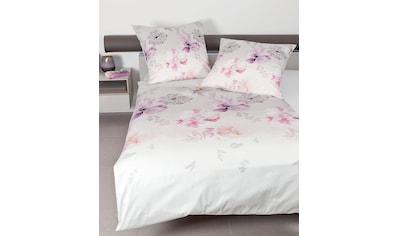 Janine Bettwäsche »modern art 42040«, mit floralem Muster kaufen