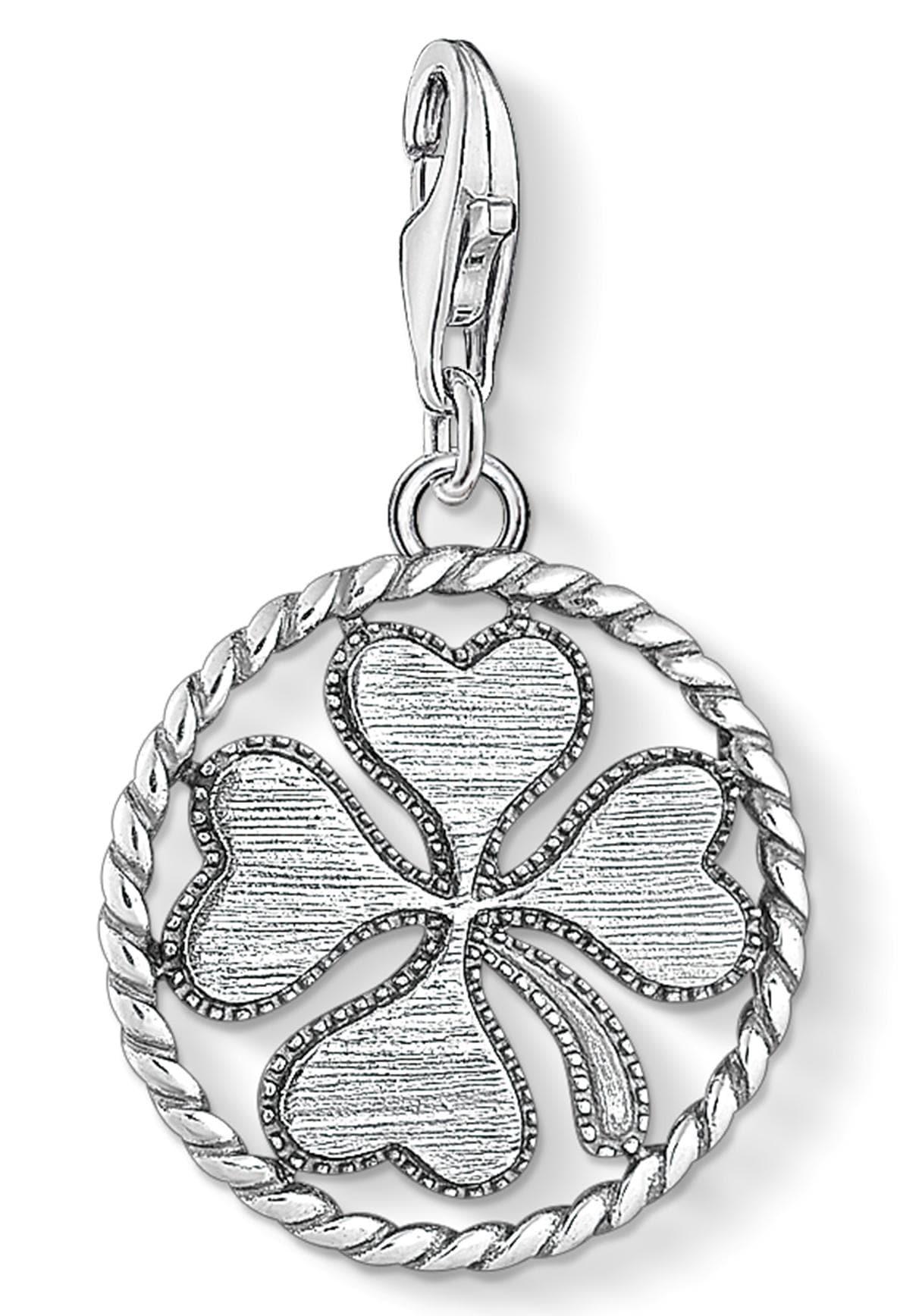 THOMAS SABO Charm-Einhänger Coin Kleeblatt 1759-637-21 | Schmuck > Charms > Charms Anhänger | Thomas Sabo