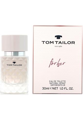 TOM TAILOR Eau de Toilette »for her« kaufen