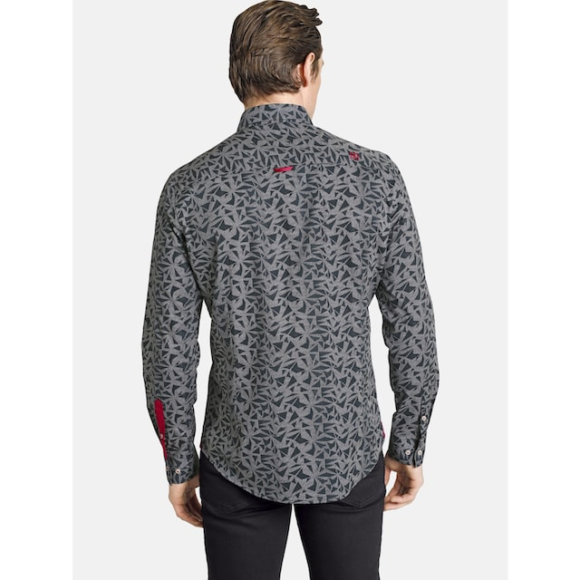 SHIRTMASTER Langarmhemd »blacktea«
