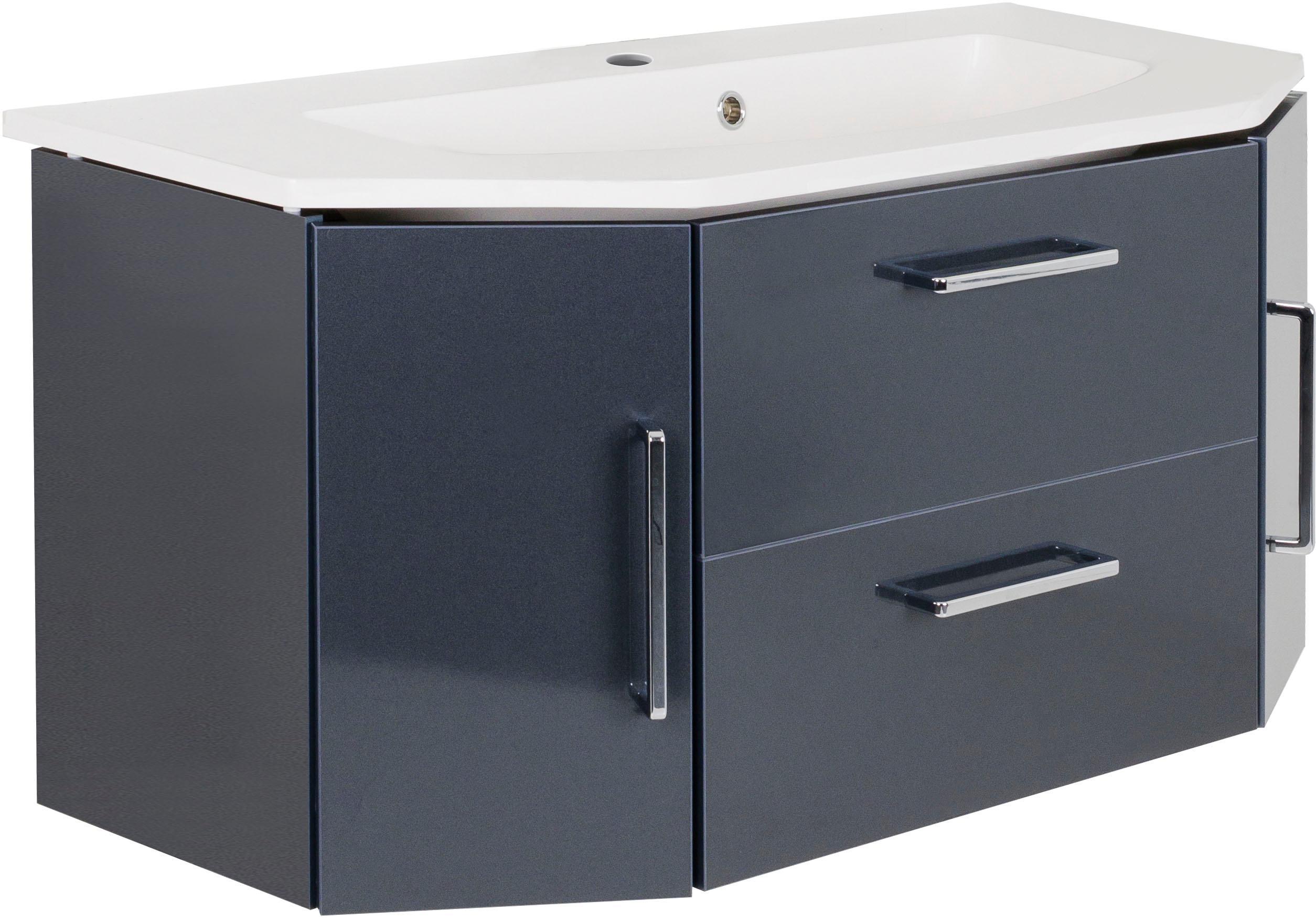 OPTIFIT Waschtisch, Ava grau Waschtische Badmöbel