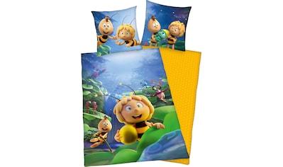 Die Biene Maja Kinderbettwäsche »Biene Maja«, mit tollem Biene Maja und Willi Motiv kaufen