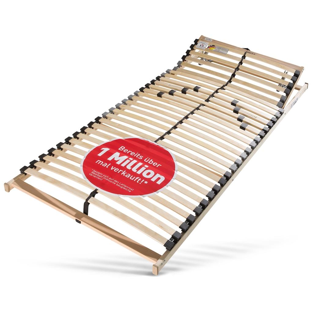 Beco Komfortschaummatratze + Lattenrost »Medibett«, (Set, Matratze und Lattenrost), Lattenrost 1 Million Mal verkauft und im Set gespart!