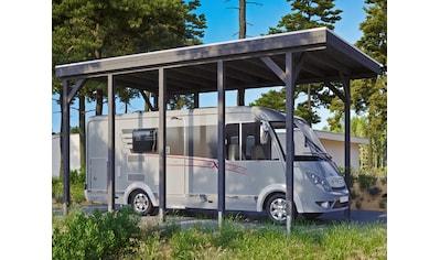 SKANHOLZ Einzelcarport »Caravan - Friesland«, BxT: 397x708 cm, Einfahrtshöhe: 350 cm kaufen