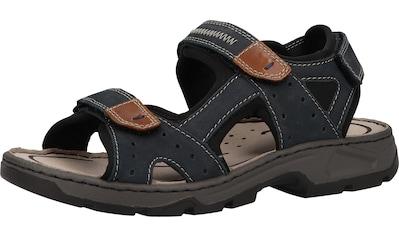 Rieker Sandale »Lederimitat/Textil« kaufen