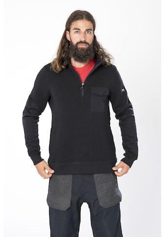SUPER.NATURAL Sweatshirt »M COMPOUND QUARTER«, geruchshemmender Merino-Materialmix kaufen