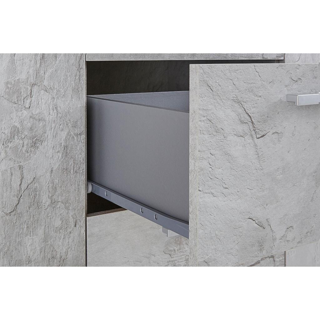 TRENDMANUFAKTUR Sideboard »Sarah«, Breite 132 cm
