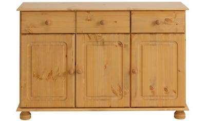 Home affaire Sideboard »Mette«, mit gefrästen, kugelförmigen Füßen, Breite 120 cm kaufen