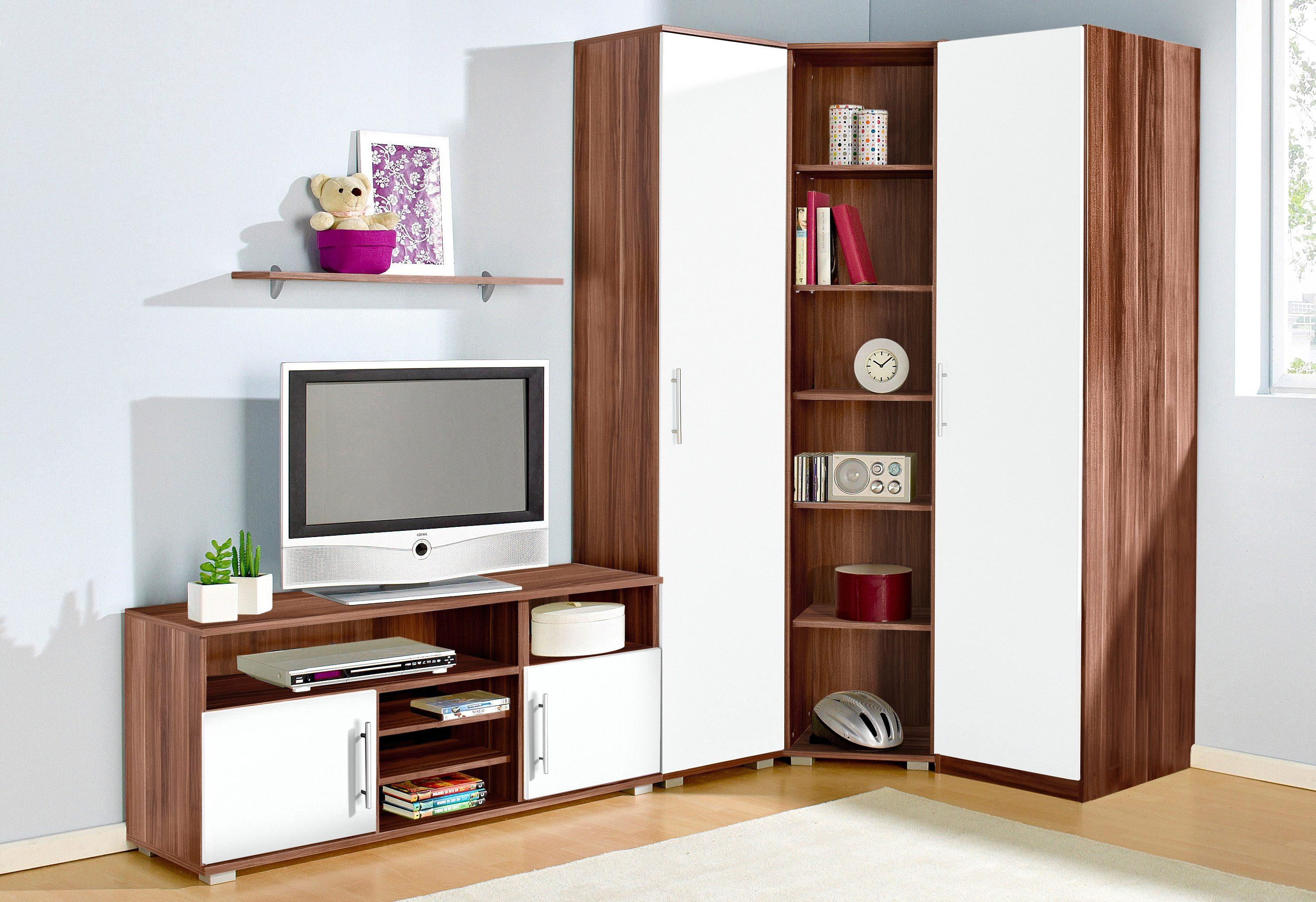 Jugendzimmer-Set, (Set, 5 St.) braun Komplett-Jugendzimmer Jugendmöbel Jugendzimmer-Set