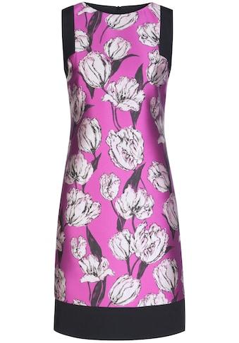Nicowa Elegantes Kleid PAULA mit femininem Blumen - Muster kaufen