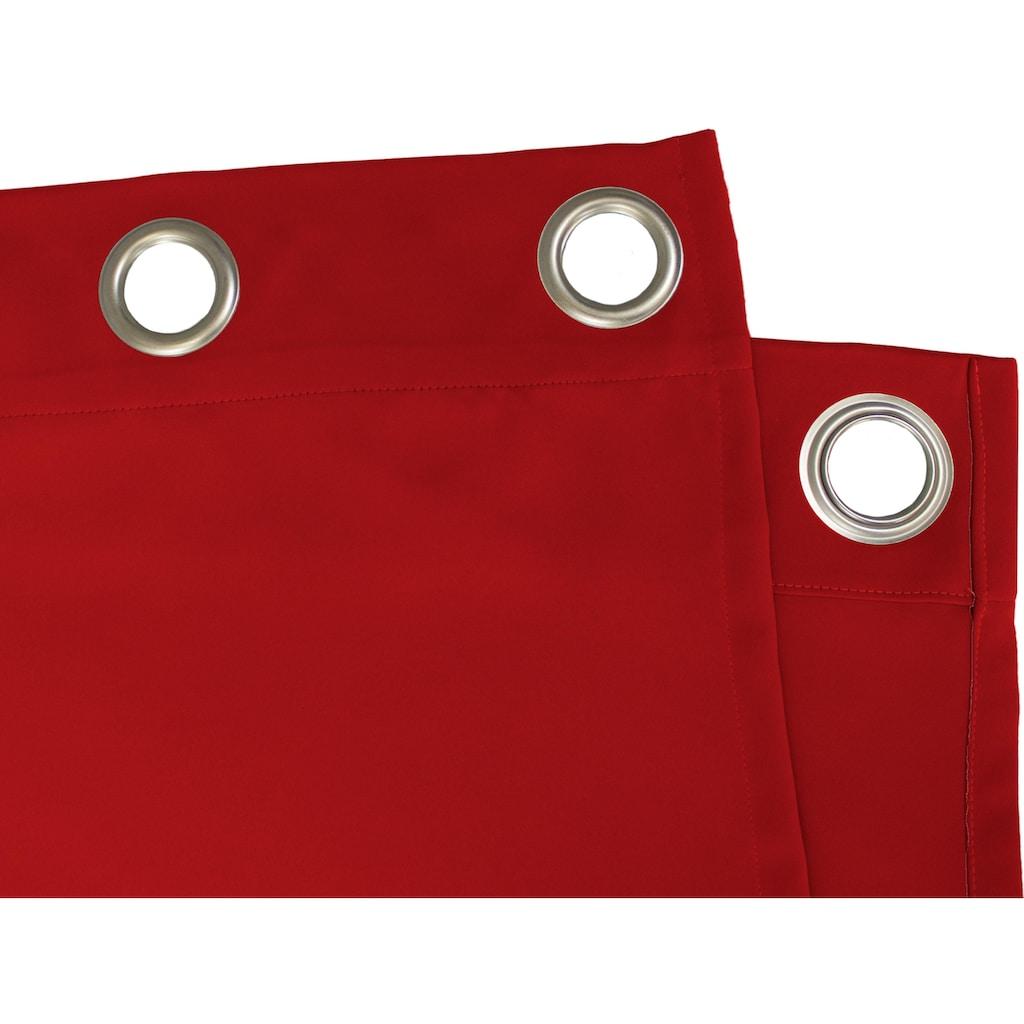 """VHG Vorhang »Leon1«, Vorhang """"Leon"""", VHG, mit Ösen"""