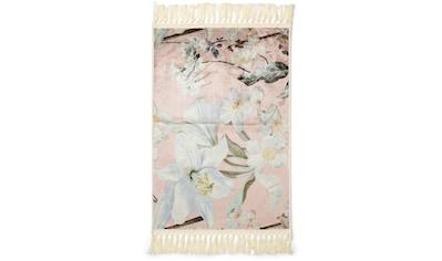 Essenza Teppich »Rosalee«, rechteckig, 6 mm Höhe, sehr weicher Flor, mit Fransen,... kaufen