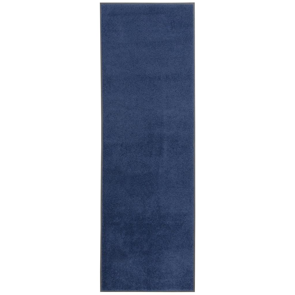 DELAVITA Läufer »Lavea«, rechteckig, 9 mm Höhe, In- und Outdoor geeignet, Uni Schmutzfangmatte