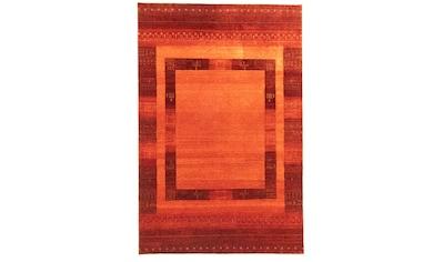 morgenland Wollteppich »Loribaft Teppich handgeknüpft rot«, rechteckig, 10 mm Höhe kaufen