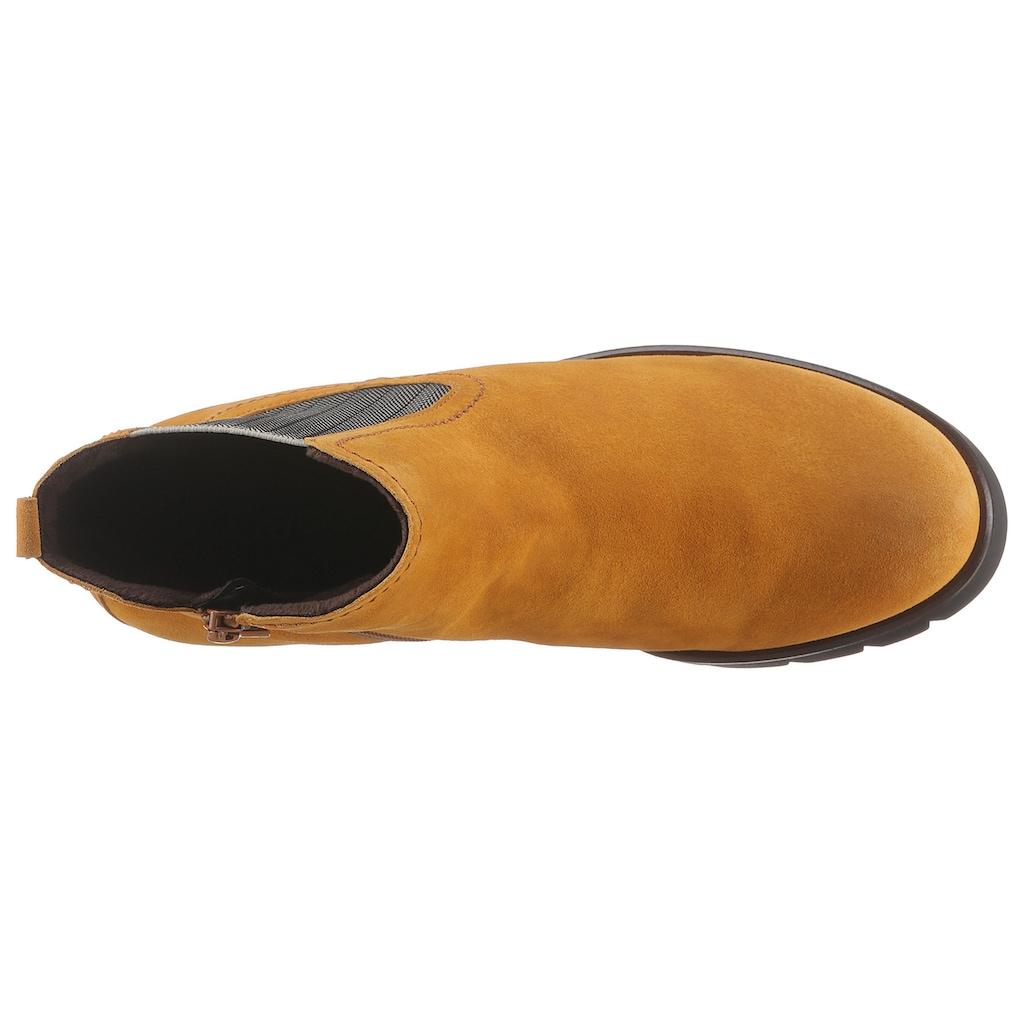 Gabor Chelseaboots, mit komfortablem Strecheinsatz