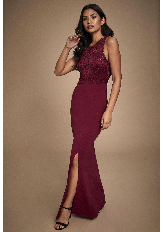 LIPSY Abendkleid rot Damen Abendkleider Kleider