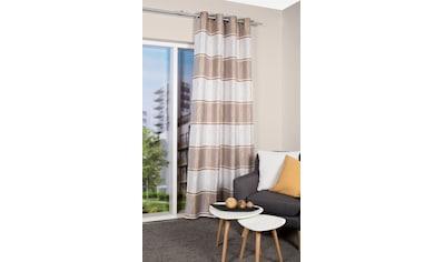 Vorhang, »LUEY«, HOME WOHNIDEEN, Ösen 1 Stück kaufen