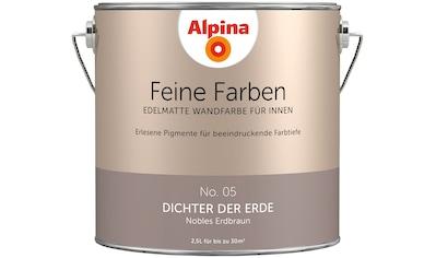 ALPINA Wand -  und Deckenfarbe »Feine Farben  -  Dichter der Erde«, 2,5 l kaufen