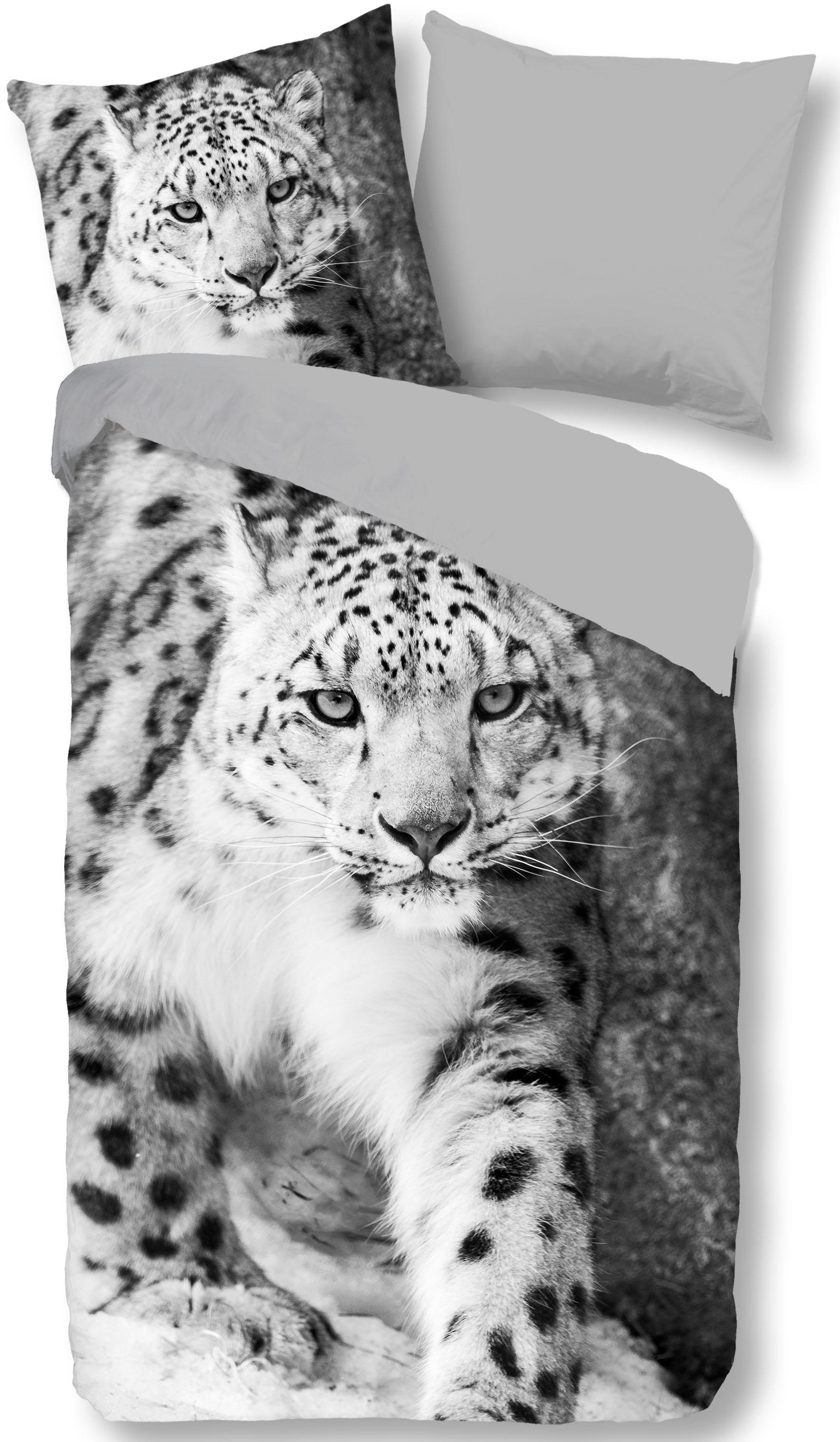 Wendebettwäsche Snow Leopard PURE luxury collection