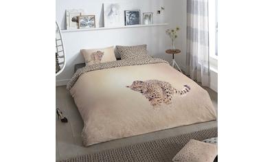 TRAUMSCHLAF Bettwäsche »Leopard«, angenehm weiches Material kaufen