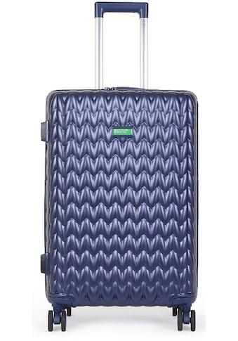 "United Colors of Benetton Hartschalen - Trolley ""Knit, 55 cm, navy"", 4 Rollen kaufen"