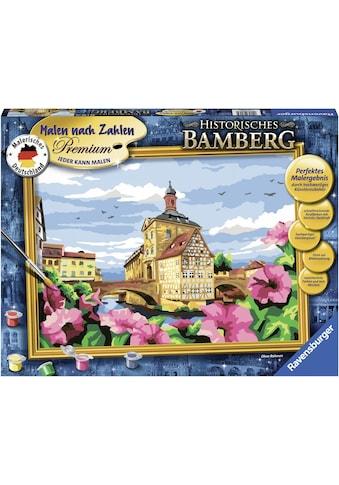 Ravensburger Malen nach Zahlen »Malerisches Deutschland - Historisches Bamberg«, Made... kaufen