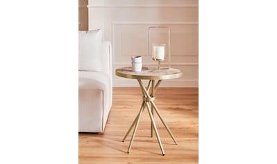 Guido Maria Kretschmer Home&Living Beistelltisch »Marble«, Beistelltisch in modernem... kaufen