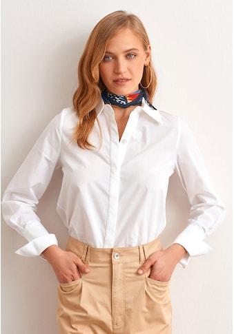 OXXO Hemdbluse, mit breiten Manschetten kaufen
