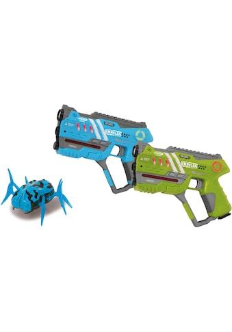 "Jamara Laserpistole ""Impulse Laser Gun Pistol blau/grün"", (Set, 2 - tlg.) kaufen"