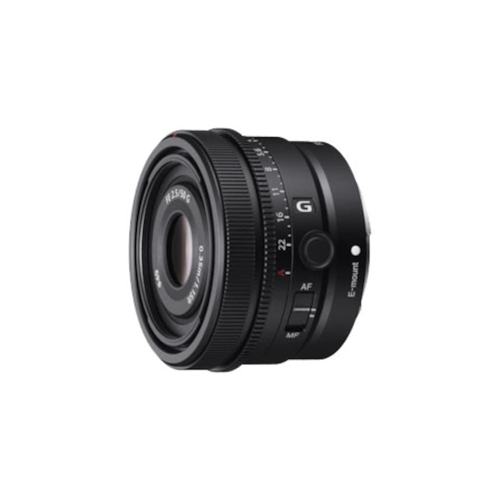 Sony Weitwinkelobjektiv »SEL50F25G.SYX«