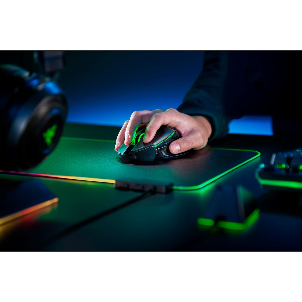 RAZER Maus »Basilisk Ultimate + Mouse Dock«, kabellos