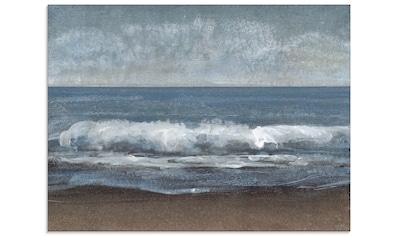 Artland Glasbild »Schleichendes Grau I«, Gewässer, (1 St.) kaufen