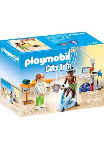 "Playmobil® Konstruktions - Spielset ""Beim Facharzt: Physiotherapeut (70195), City Life"", Kunststoff, (39 - tlg.) kaufen"
