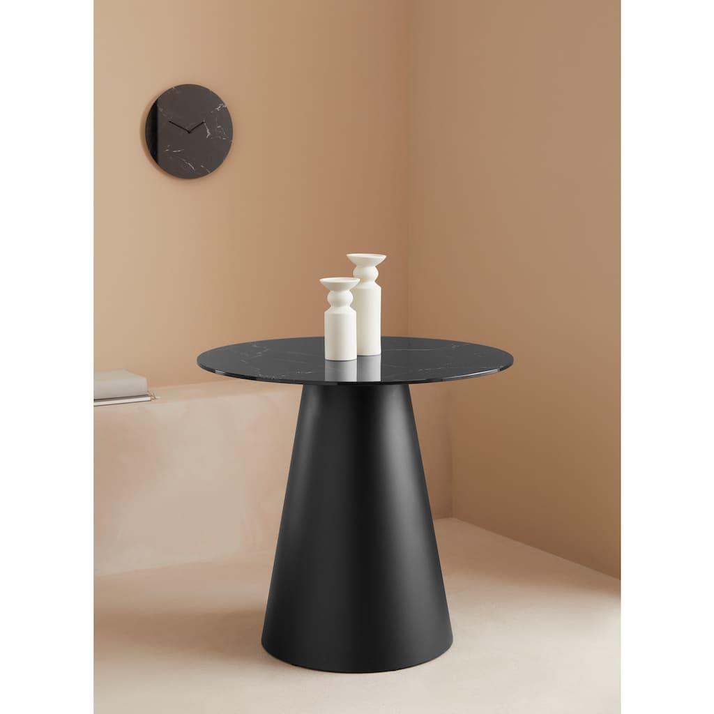 LeGer Home by Lena Gercke Beistelltisch »Malin«, 1cm starke Tischplatte in Marmoroptik
