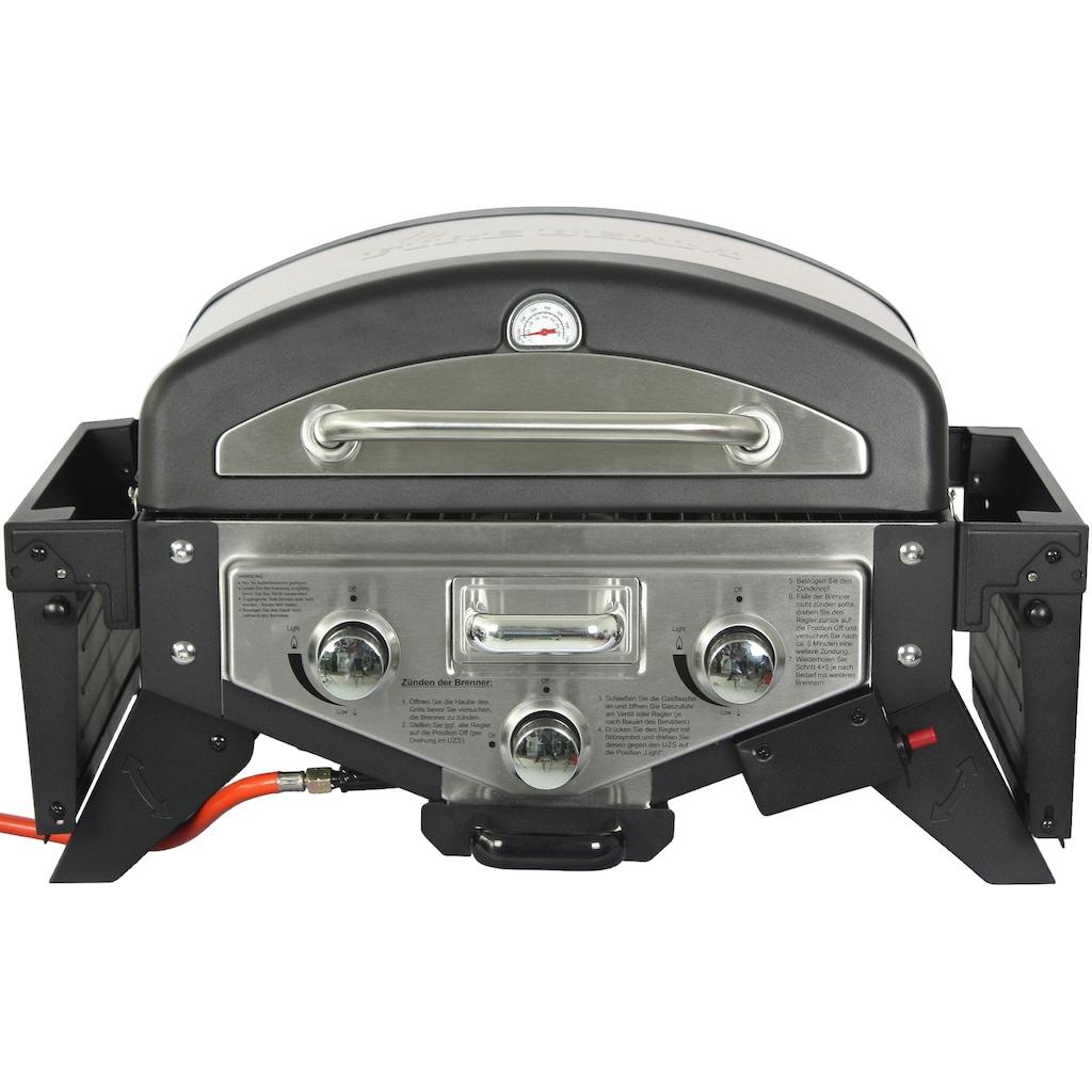 El Fuego Gasgrill »Medison schwarz/silber«, BxTxH: 118,5x38x52 cm