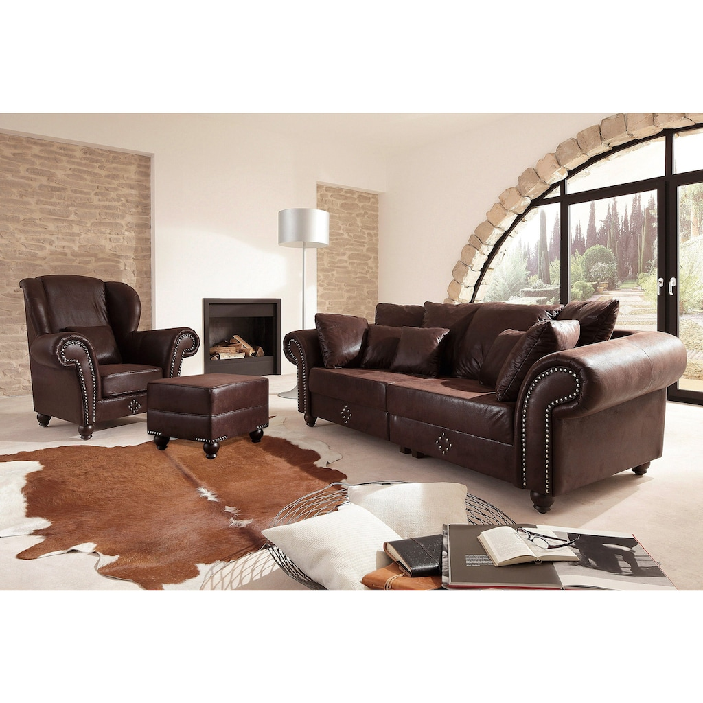 Home affaire Big-Sofa »King George«